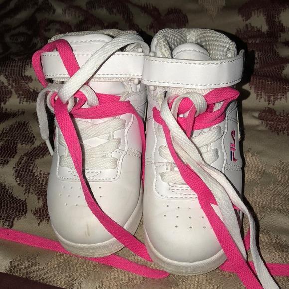 Fila Shoes | Pink White And Blue Fila